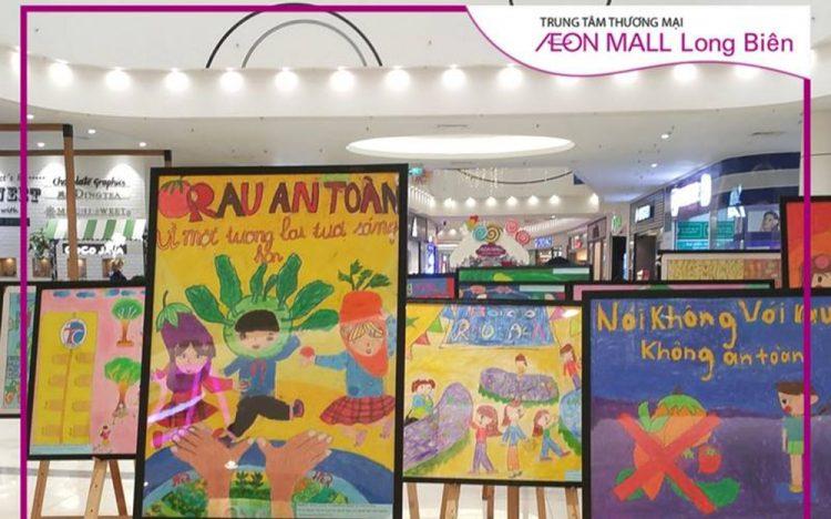 AEON MALL Long Biên cùng nâng cao nhận thức về rau an toàn dành cho thế hệ trẻ