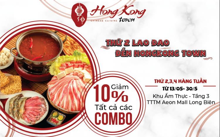 Thứ 2 lao đao – Đến Hong Kong Town