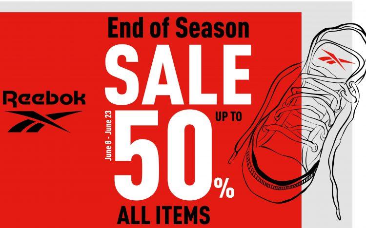 REEBOK: Sale up to 50%
