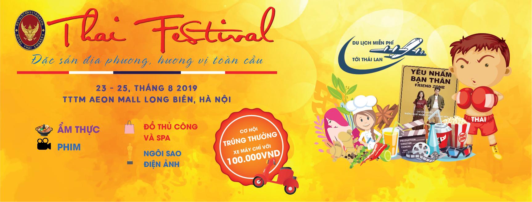 Lễ hội Thái Lan - Thai Festival 2019 tại AEON MALL Long Biên