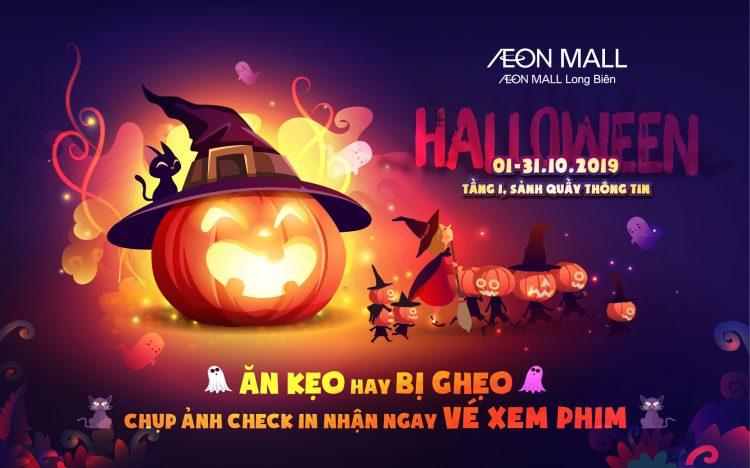 Sự kiện Halloween AEON MALL Long Biên 2019