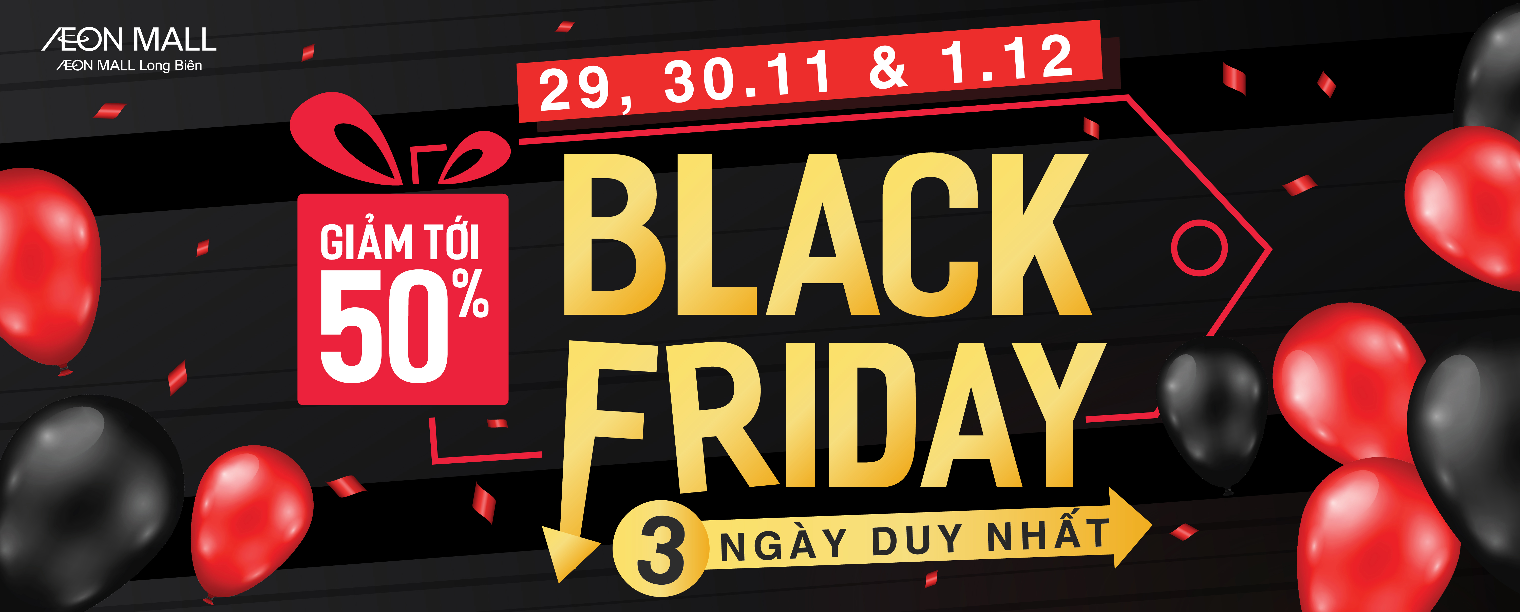 Black Friday AEON MALL Long Biên