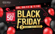 AEON MALL Long Biên Black Friday 2019