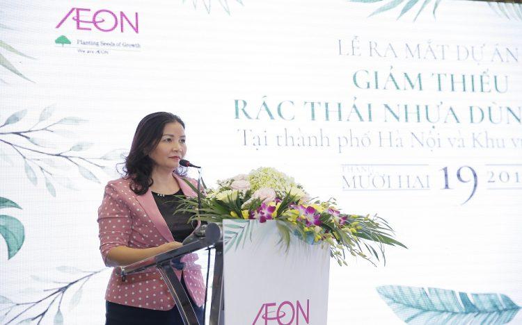 AEON Việt Nam giảm thiểu rác thải nhựa