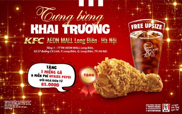 KFC khai trương gian hàng