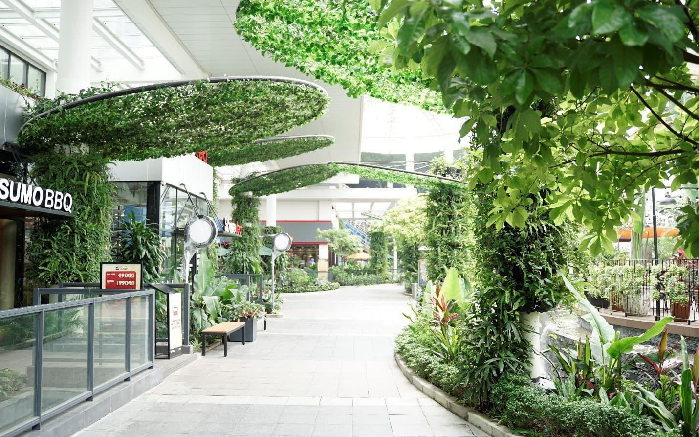 AEON MALL Long Biên - Hành trình Sống Xanh