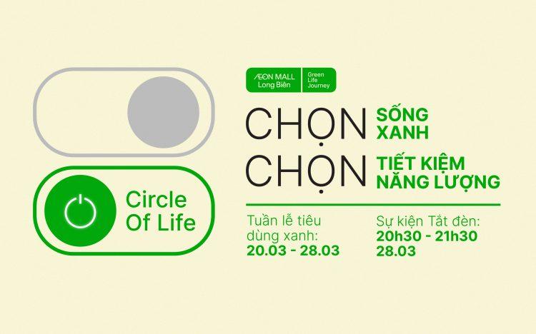 Earth hour AEON MALL Long Biên