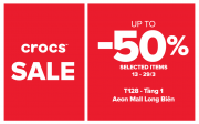 Crocs AEON MALL Long Biên