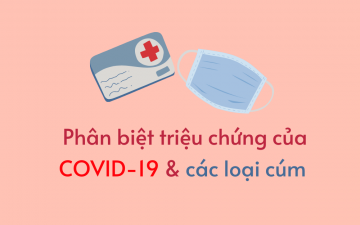 Phân biệt COVID-19 với các loại cúm thông thường khác