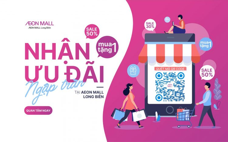 Minigame Zalo AEON MALL Long Biên
