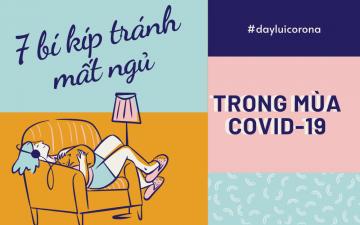 Bí kíp tránh mất ngủ giai đoạn COVID-19