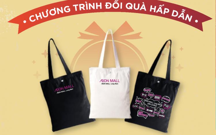 Quà tặng túi mua sắm AEON MALL Long Biên
