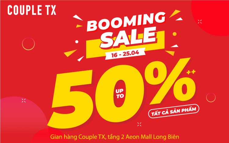 COUPLE TX | BOOMING SALE 2021