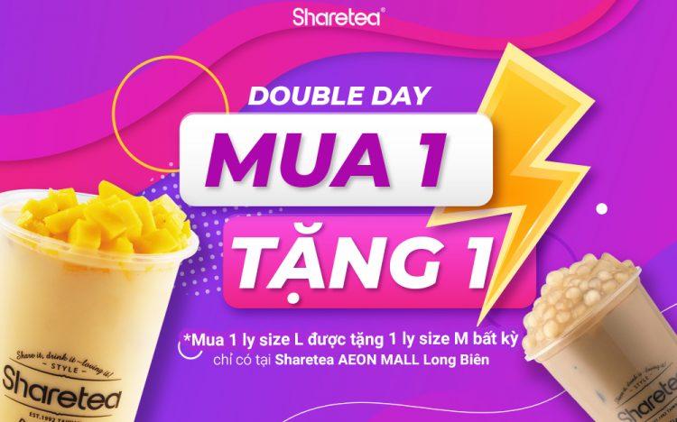 DOUBLE DAY | SHARETEA MUA 1 TẶNG 1 | NHÂN ĐÔI NIỀM VUI
